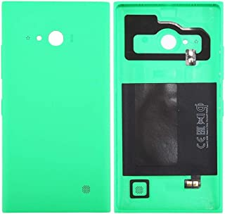 Battery case Jrc Solid Color NFC Battery Back Cover for Nokia Lumia 735 (Black) Mobile phone accessories (Color : Green)