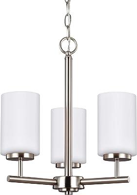19.5 x 19.5 x 26.75 19.5 x 19.5 x 26.75 Designers Fountain LED85083-CH Astoria 3 Light Chandelier