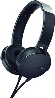 Sony MDR-XB550AP - Audífonos de diadema EXTRA BASS con micrófono para llamadas con manos libres , Negro