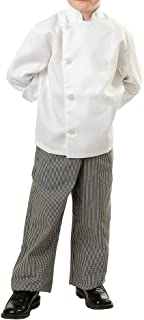 kids chef jacket