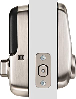 Yale Assure Lock with Wi-Fi in Satin Nickel and Samsung SmartThings Wi-Fi Cam