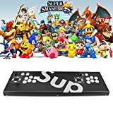 MOSTOP 3D & 2D Arcade Video Game Console 2680 Games in 1 Pandora's Box 180 3D Games 1080P HD 2 Players Arcade Machine with Double Joystick Support Expand 6000+ Games (2680 Sup)