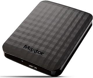 """Maxtor HX-M201TCB/GM, HDD Esterno da 2 TB, 2.5"""", USB 3.0, Nero"""