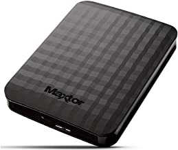 Maxtor 2TB USB 3.0 Portable Hard Drive,Black