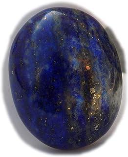 The Best Jewellery Lapis Lazuli cabochon, 34Ct Lapis Lazuli Gemstone, Oval Shape Cabochon For Jewelry Making (24x19x8mm) S...
