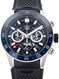 タグ・ホイヤー TAG HEUER カレラ キャリバー ホイヤー02 クロノグラフ GMT CBG2A1Z.FT6157 新品 腕時計 メンズ (W186819) [並行輸入品]