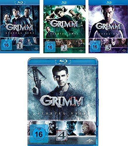 Grimm Staffel 1 - 4 im Set - Deutsche Originalware [20 Blu-rays]