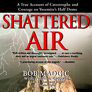 Shattered Air audiobook cover art