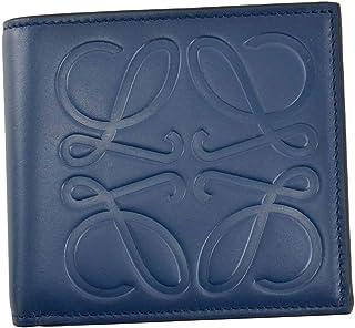 [ロエベ] 財布 2つ折小銭入れ付き メンズ ダークブルー 106.54A501 5820 [並行輸入品]