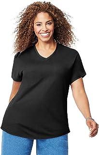 تی شرت آستین کوتاه و آستین کوتاه زنانه Just My Size