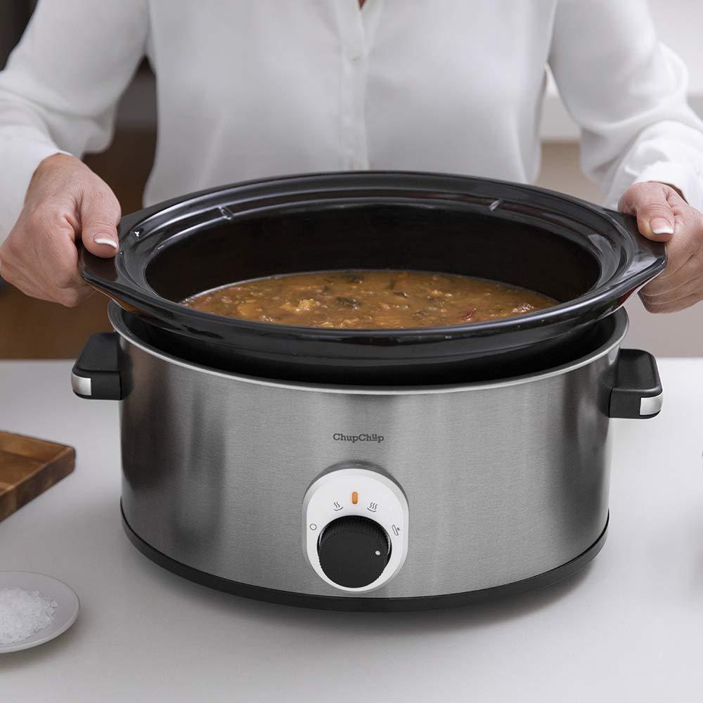 Cecotec Olla de cocción Lenta Chup Chup de 5,5 litros, cubeta ...