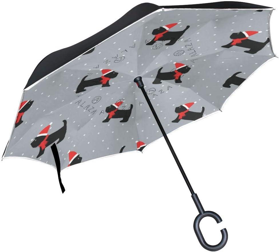 gift rodde Umbrella Reverse Inverted Sun Rain P Dog Miami Mall Cute Animal Puppy