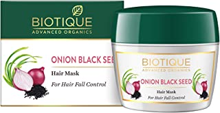 Biotique Onion Black Seed Hair Mask, Ideal for Hair Fall Control, 175g