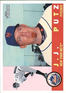 Baseball MLB 2009 Topps Heritage #586 J.J. Putz #586 NM+ Mets