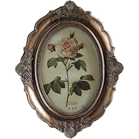 Vintage Victoria Rose Flower Photo Frame Picture Wedding Home Table Decor Gift