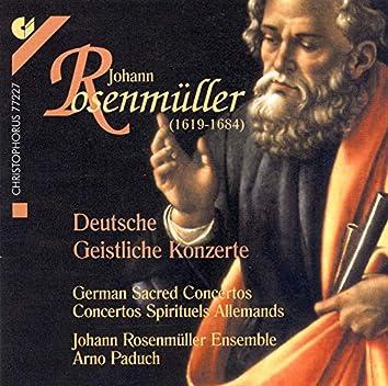 Rosenmuller: German Sacred Concertos