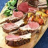 ミートガイ ラム肉 ラムチョップ ブロック (1ラック+スパイスのセット) ニュージーランド産 WAKANUIスプリングラム フレンチラムラック New Zealand Frenched Lamb Rack+Lamb Rub Spice