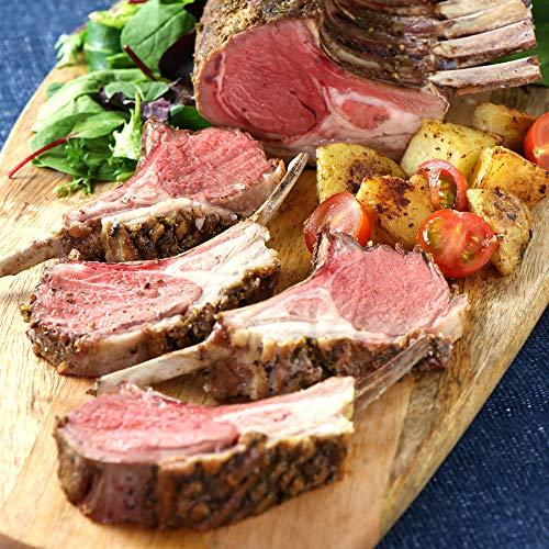 ミートガイ ラム肉 ラムチョップ ブロック (1ラック スパイスのセット) ニュージーランド産 WAKANUIスプリングラム フレンチラムラック New Zealand Frenched Lamb Rack Lamb Rub Spice