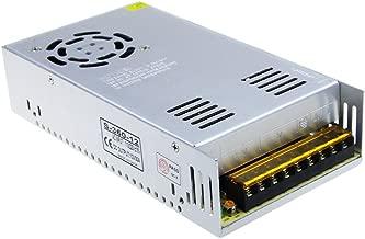 ALITOVE AC 110V/220V to DC 12V 30A 360W Universal Regulated Switching Power Supply Transformer Adapter LED Driver for LED Strip, CCTV Camera System, Radio