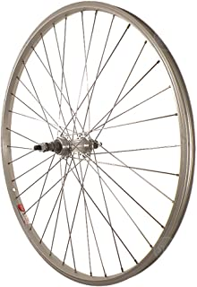Sta Tru STW 26 X 1.5 BO Silver Rear Mountain Bike Wheel - RWS2615AA