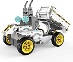 UBTECH JIMU Robot Builderbots Series: Overdrive Kit / App-Enabled Building and Coding STEM Learning Kit (410 Parts and Con...