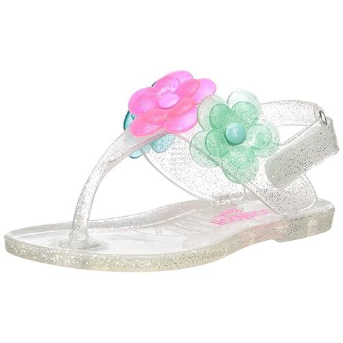a580b46cbad OshKosh B Gosh Kids Pectin Girl s Floral Jelly T-Strap Sandal