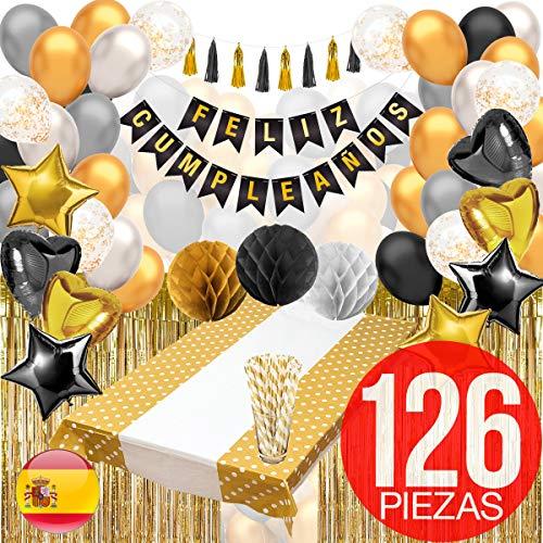 Decoracion Cumpleaños -  Pack Incluye Pancarta