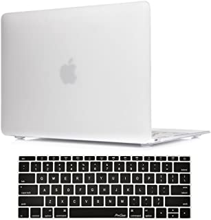 MacBook 12 Inch Case A1534 ProCase Rubberized Hard Case Shell Cover with Hollow Out Silicone Keyboard Skin Cover for Apple...