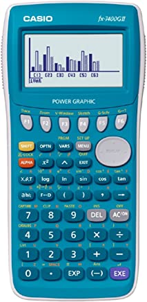 $69 » Casio Fx7400 Fx-7400gii Power Graphic Scientific Calculator High Resolution Display Screen Limited Edition 20kb RAM Turquoise Color Limited Edition.