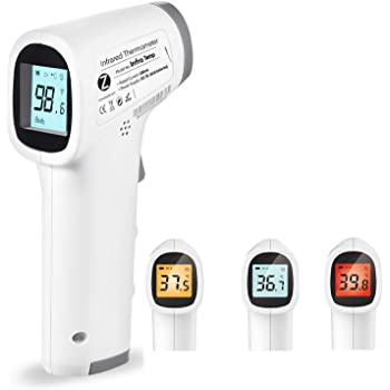 Zoook InfraTemp Forehead Medical Digital Non Contact Infrared (IR) Thermometer