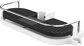 CUTICATE ステンレス鋼正方形シャワーロッドシャワーロッドラックシェルフシャワートレイ320x125mm