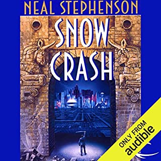 Snow Crash  audiobook cover art