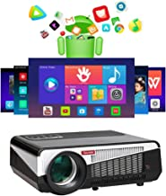 Gzunelic 7500 lumens Android WiFi 1080p Video Projector LCD LED Full HD Theater Proyector..