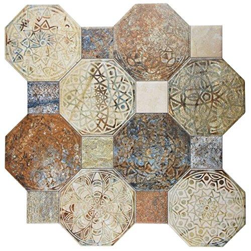 SomerTile FCG18SXD Silema Ceramic Floor and Wall, 17.75