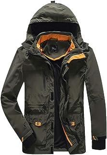 Mens Outdoor Lightweight Windbreaker Outwear Windproof Waterproof Rain Jacket