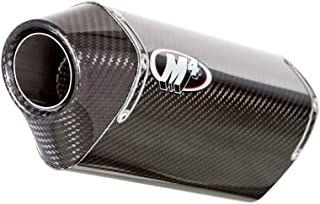 M4 15-16 Suzuki GSX-S750 MC-36 Standard Slip-On Exhaust (Carbon Fiber)