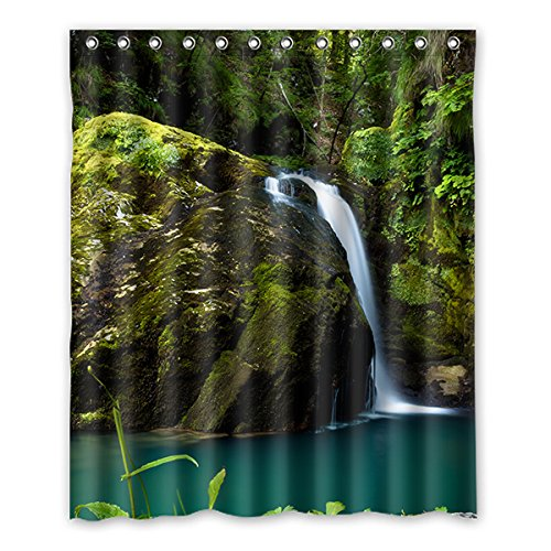 Einmal Young blue sky Wasserdicht Polyester-Badezimmer-Dusche Vorhang Badezimmer Deko 152,4x 182,9cm (152cm x 183cm), Polyester, J, 152,4 x 182,9 cm