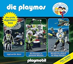 Die Playmos: Die große Agenten-Box.