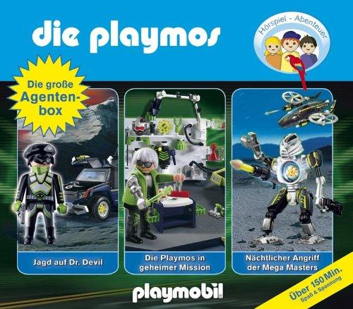 Die Playmos - Die große Agentenbox (Original Playmobil Hörspiele)