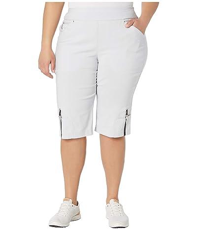 Jamie Sadock 24.5 Skinnylicious Pull-On Knee Capris (Misty) Women
