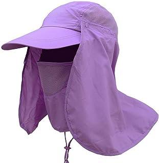 TYPEIN Sombrero de protección Solar para el Aire última intervensión, para Mujeres, Hombres, Verano, Transpirable, para el Cuello, la Cara y el Sol
