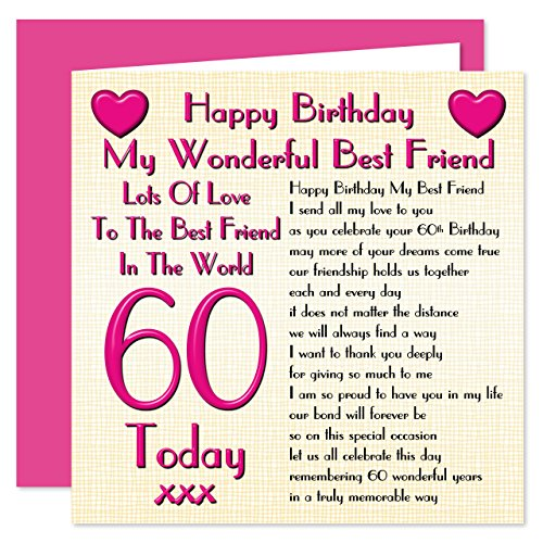 Best Friend 60th Happy...