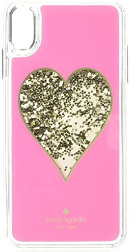 Heart Liquid Glitter Phone Case for iPhone® X Plus