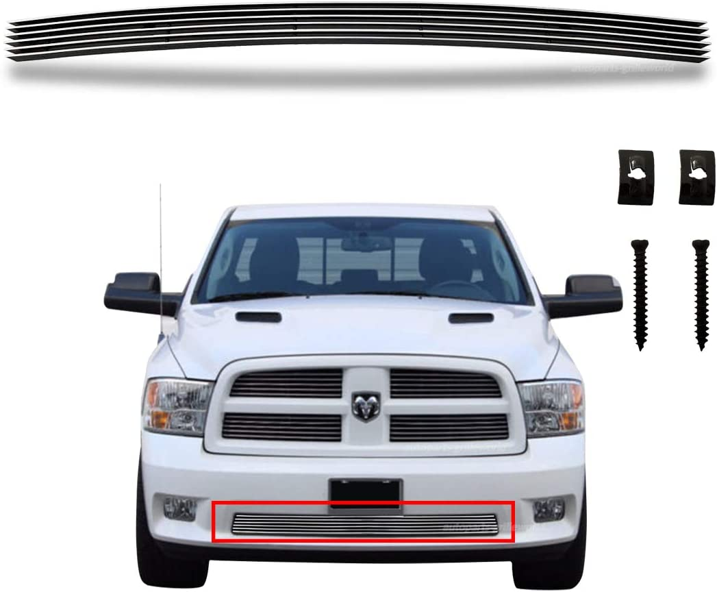 Front Bumper Lower Center Grill 150 New item Ram 2009-2012 Compatible for Challenge the lowest price
