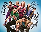 Limited Edition The Big Bang Theory Cast Signiert Foto