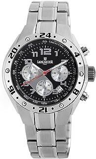ランカスター 腕時計 イタリアブランド クロノグラフ OLA0502BK/GR [並行輸入品]