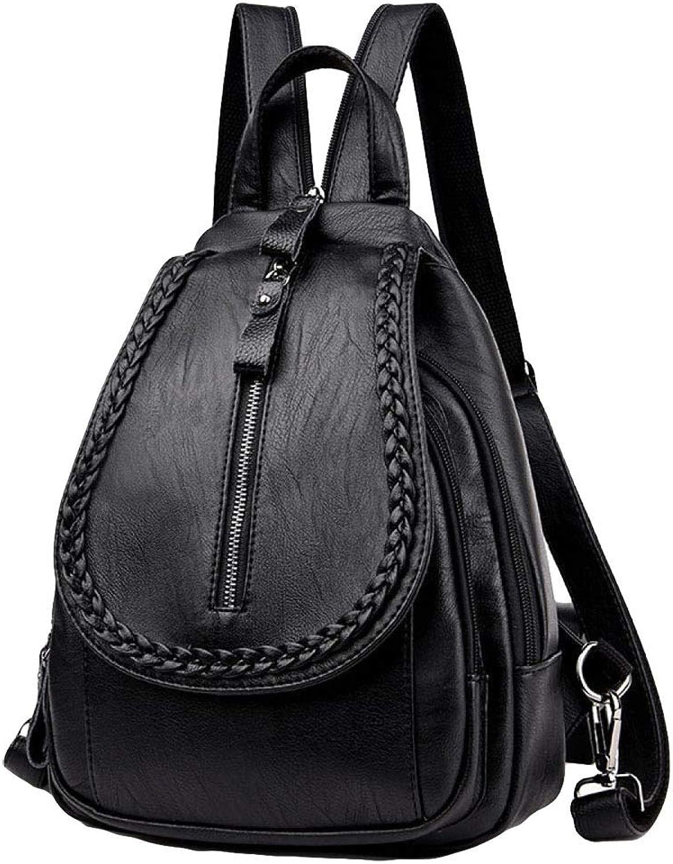 JIA HONG Rucksack Weibliche Neue Koreanische Mode Mode Mode Brusttasche Multifunktions Messenger Bag Lässige Rucksack Reisetasche,schwarz-OneGröße B07JKYW3R8  Bekannt für seine schöne Qualität e54878