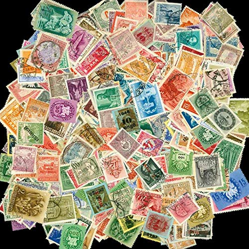 keke 50Pcs / Lot Magyar Briefmarke Vintage vor 1950 Alle Anders als Ungarn Nein Briefmarken mit Poststempel zum Sammeln wiederholen