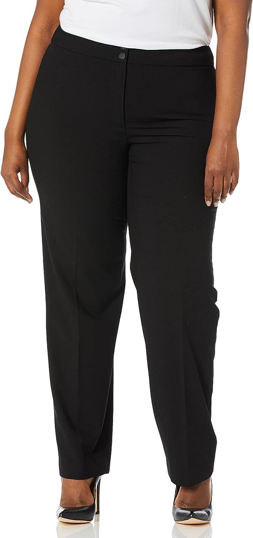 Calvin Klein Women's Plus Size Career Pant at  Women's Clothing store
