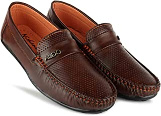 SHIVAY Best Fit Designer Ultra Comfort Synthetic Leather Casual Loafers for Boys and Kids